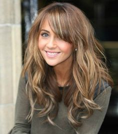 Golden blonde, consider asking for warm low lights in toffee or chocolate brown #fall #haircolor