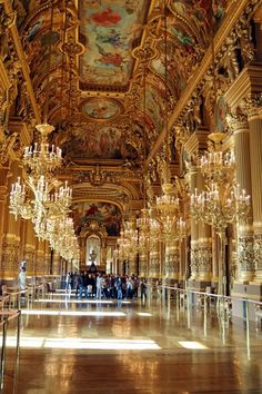 Hall in Opera House, Paris