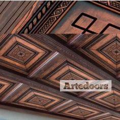 Techos artesanos de madera