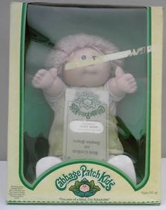 Cabbage Patch Kid ~she looks like my first one, that i was soooooo happy to get!