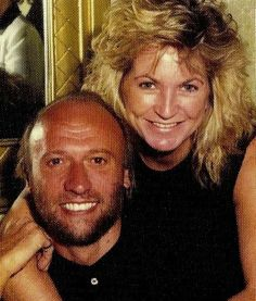 Maurice Gibb his wife and Yvonne ♥