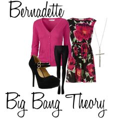 """Bernadette....Big Bang Theory"" by ashley-nicole-parris on Polyvore"