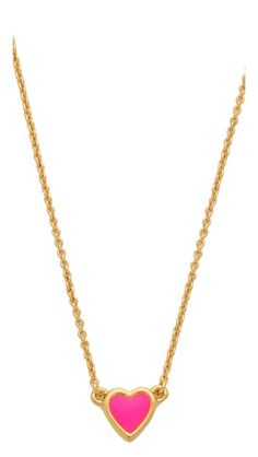 kate spade be mine necklace
