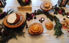 Rustic Dessert Display; Holiday Party