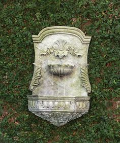 Scroll Fountain | Charleston Gardens® - Home and Garden Collection Classic outdoor and garden furnishings, urns & planters and garden-related gifts