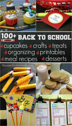 100+ Back to School