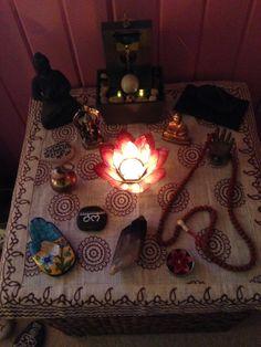 My meditation altar