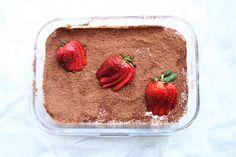 Strawberry Tiramisu - to Real Life Strawberry Tiramisu, Honey Lemon, Almond Butter, Cocoa, Real Life, Easy Meals, Journey, Healthy Recipes, Dishes