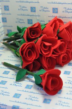 Lápis com Rosa - Tudinho de Biquinho