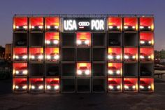 Shipping Container Workspaces : Village Underground Lisboa: