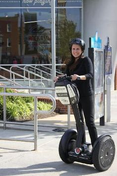 Take a tour at Segway Experience of Memphis.