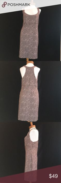 FREE PEOPLE DRESS Hot little body on dress in purple and mauve animal print, Size L. Great condition! Free People Dresses Mini