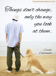 Carlos Castaneda Quotes | Carlos Castaneda | Visualize Abundance: Quotes & Affirmation Images