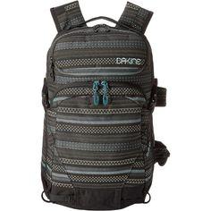 Dakine Heli Pro Backpack 20L Backpack Bags, Beige (75 CAD) ❤ liked on Polyvore featuring bags, backpacks, beige, dakine, zip bags, dakine rucksack, handle bag and polyester backpack