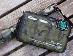 Camouflage Nikon Coolpix AW100(via Fancy)