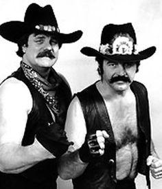The Blackjacks - Blackjack Mulligan (Robert Windham) und Blackjack Lanza (Jack Lanza) Bobby Heenan, Danny D, Wrestling Stars, Professional Wrestling, Wwe Wrestlers, Old Skool, Superstar, Guys, Boxing