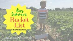 *If this is your first time checking out the Summer Bucket List Series, start with Week #1. Want to learn more about my #makeitcount ways? Follow me on Instagram or Join the Private Facebook Group I started called Empowering Kids with Character!