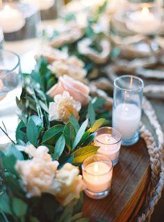 #candle  Photography: Jose Villa - josevillablog.com Floral Design: Flowerwild - flowerwild.com  Read More: http://www.stylemepretty.com/2014/02/06/elegant-carmel-wedding-with-photography-by-jose-villa/