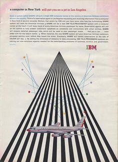 IBM ad: designed by Matthew Leibowitz