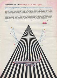 IBM ad: designed by Matthew Leibowitz