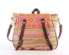 Tribal Messenger Diaper Bag Backpack Ethnic Shoulder by TaTonYon