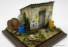 Small shed (1/35 scale)
