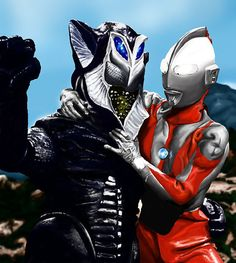"""Old Pals"" #LOL Ultraman"