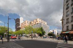 © 11h45 / Logements, Paris (75) - Atelier Marie Schweitzer