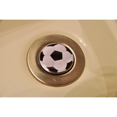 For all of you soccer fans NOW you can have your favorite sport decorating your sink stopper. Bathroom Sink Stopper, Bathroom Vanity Decor, Wood Bathroom, Bathroom Colors, Bathroom Ideas, Soccer Room, Soccer Fans, Soccer Stuff, Rustic Master Bathroom