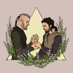 Vikings - Ragnar Lothbrok x Athelstan - Athelnar
