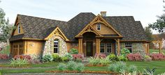 Exciting Mountain Retreat - 16800WG   Cottage, Craftsman, Mountain, Ranch, Vacation, Photo Gallery, 1st Floor Master Suite, Bonus Room, CAD Available, Den-Office-Library-Study, Jack & Jill Bath, MBR Sitting Area, Media-Game-Home Theater, PDF, Split Bedrooms, Corner Lot, Sloping Lot   Architectural Designs