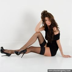 Nylonica at Stockings HQ