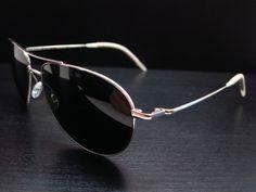 fcb076ffc6eb7 Oliver Peoples Benedict OV 1002S 5241 3F Silver Polarized Sunglasses