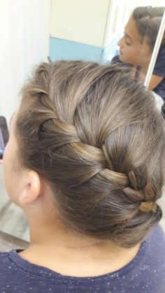 French braid French Braid, Braids, Fashion, Bang Braids, Moda, Cornrows, Fashion Styles, Pigtail Hairstyle, Fasion