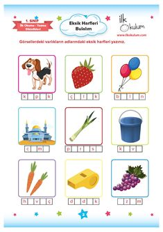 Turkish Lessons, Turkish Language, 4 Year Olds, Lessons For Kids, Worksheets, Activities For Kids, Dil, Nursery, Math