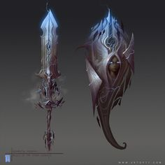 Storm Goddess Weapons by Tyler James