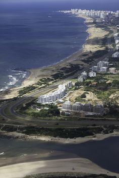 Playa Brava, Punta del Este. Uruguay.