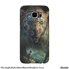 The Jungle Book | Shere Khan & Mowgli Samsung Galaxy S6 Cases #carcasas #cases
