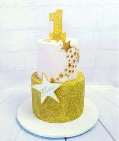 Edible glitter twinkle twinkle little star cake
