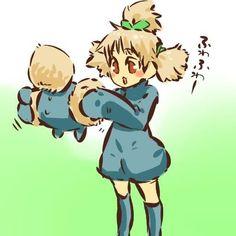 Pokemon gijinka jumpluff