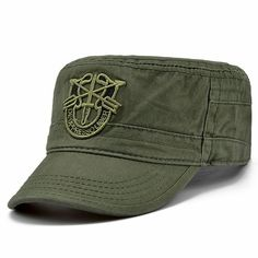 a293a0dc Beret Us Army Special Forces Green Cap Airborne Military Boina Visor Hats  #fashion #clothing