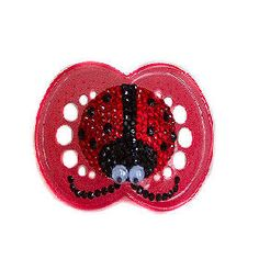 Ladybug Bling Pacifier -- Baby Bling Things Boutique Online Store