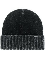 classic knitted beanie hat