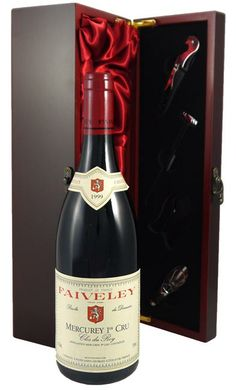 1999 Mercurey 1er Cru Clos du Roy : delightful aromas of black fruits, minerals and flowers