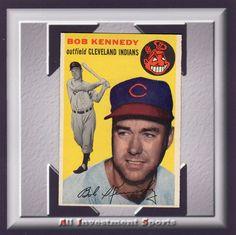 1954 Topps BOB KENNEDY #155 NM fantastic baseball card for your set M90D