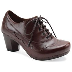 Women's Dansko Nell  http://www.schulershoes.com, these are actually cute!