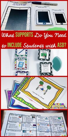 Looking for the right tools to help your students with autism in general education? Supports like visual supports, reinforcement systems and good communication systems are so important for students with special needs. Find out what tools can help!