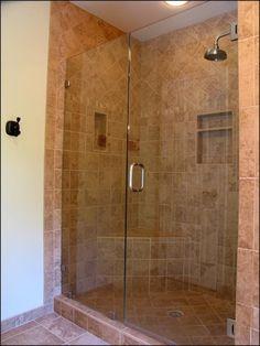 standing shower bathroom design. Bathroom Bathroom And Shower Tile Designs  Corner Shower Design Like To Use The 2x2 Mosaic Floor