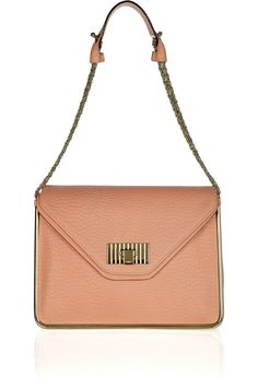 CHLOÉ  Sally textured-leather shoulder bag  £1,371.56