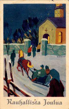 """HANS BJÖRKLIND """"UKKO"""" - 106951943635258866150 - Picasa-verkkoalbumit Albums, Christmas, Painting, Vintage, Art, Picasa, Craft Art, Navidad, Weihnachten"""
